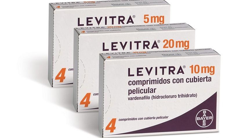 сколько мг левитры принимать