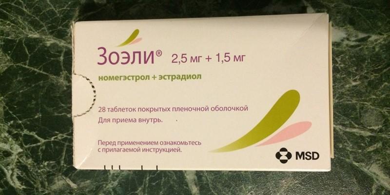 Противозачаточные таблетки Зоэли