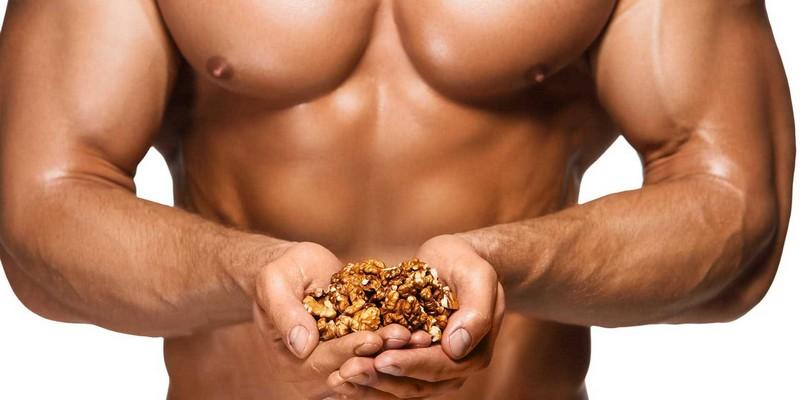 Как орехи влияют на тестостерон?