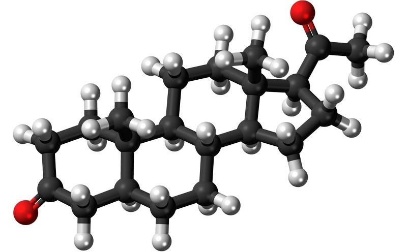 Молекула тестостерона и болденона
