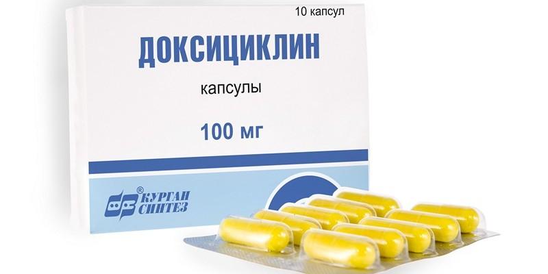 Доксициклин при простатите