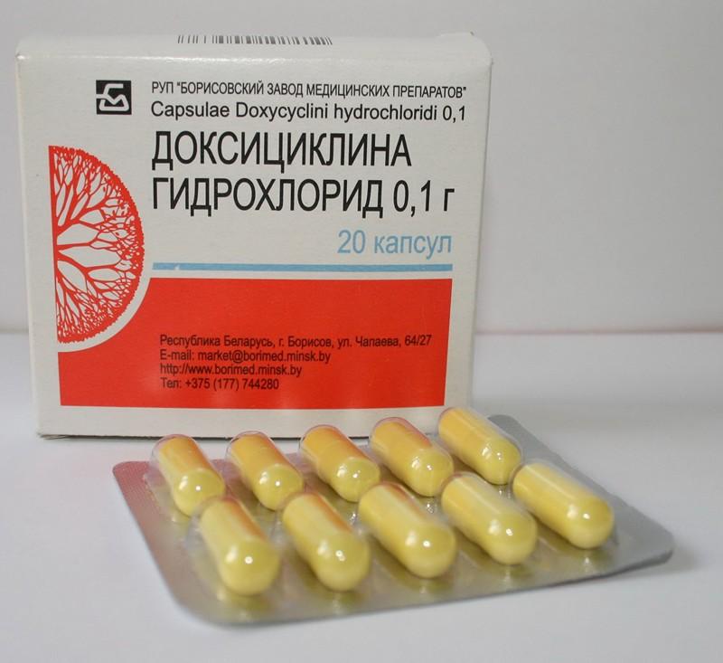 Лечение доксициклином