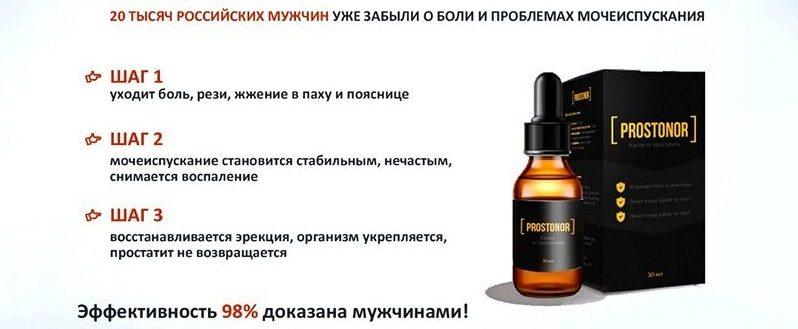 Простонор от простатита