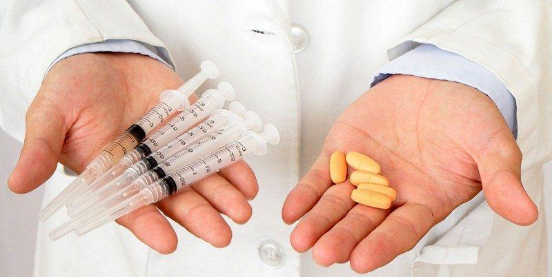 Медикаментозное лечение импотенции