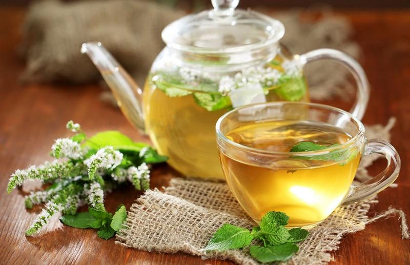 Чай с пустырником и мятой